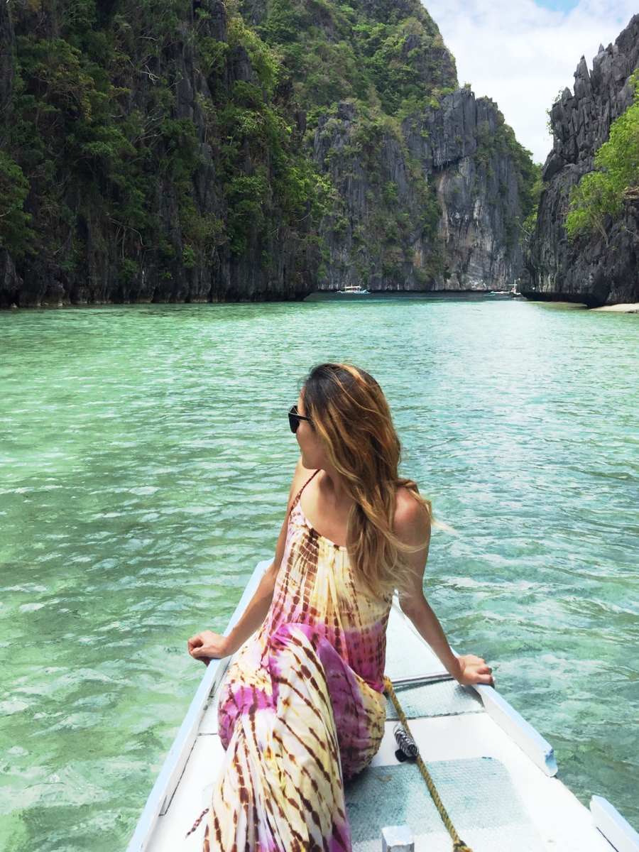 Beyond Basic Blog El Nido Palawan Big Lagoon Tiare Hawaii Addiction Dress