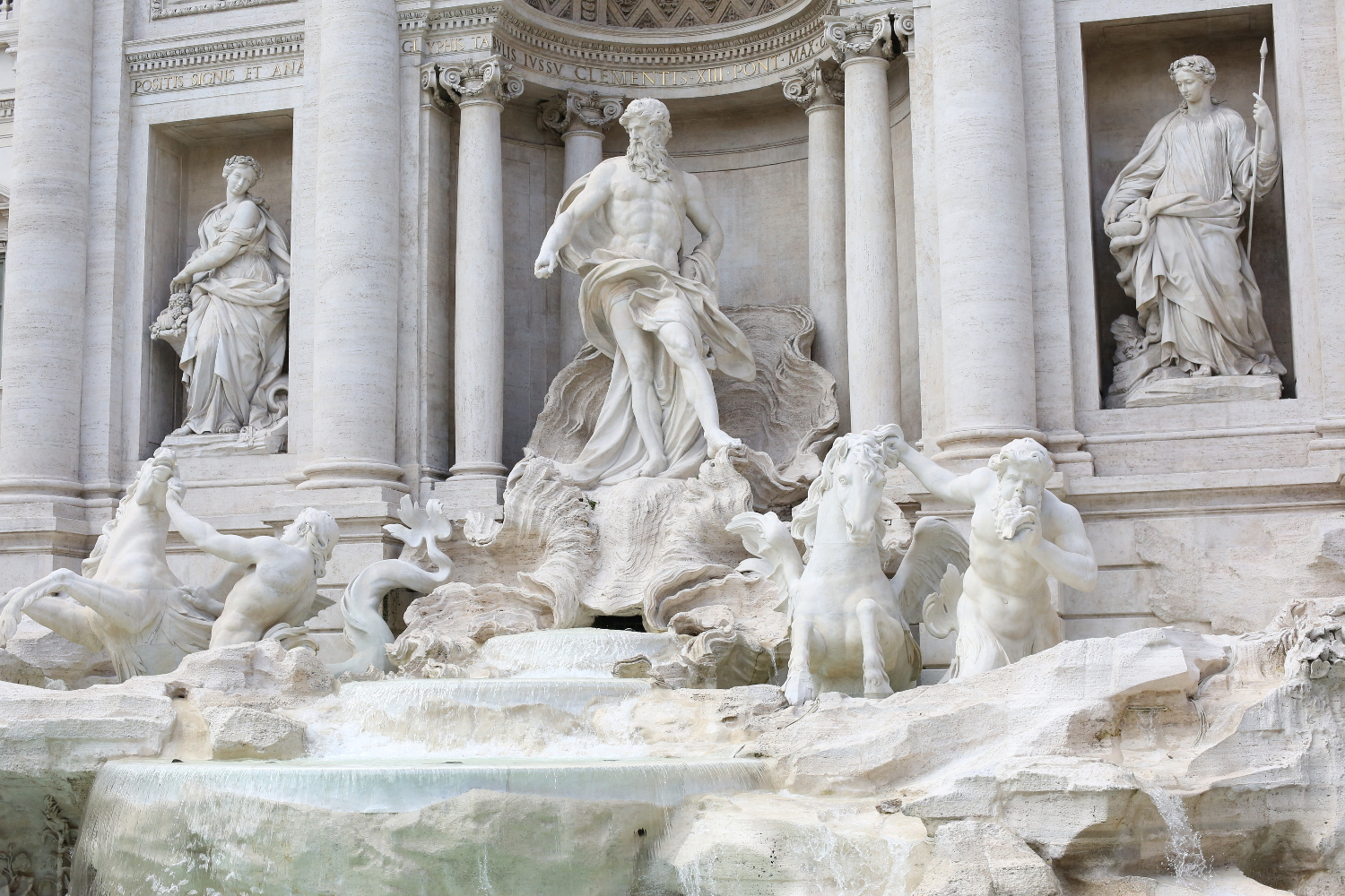 Beyond Basic Blog When In Rome Trevi Fountain