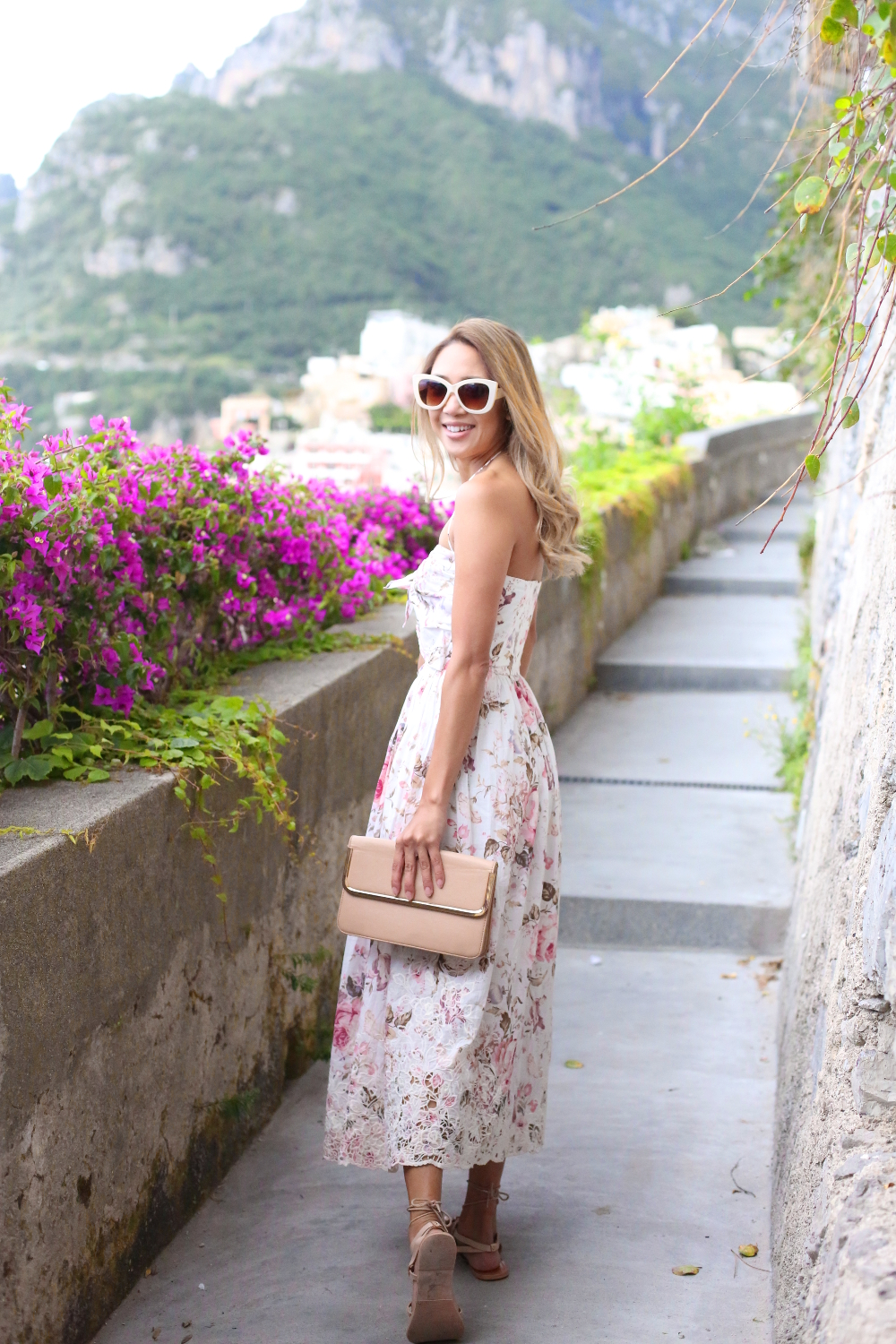 Beyond Basic Blog Amalfi Coast Zimmermann Eden Dress