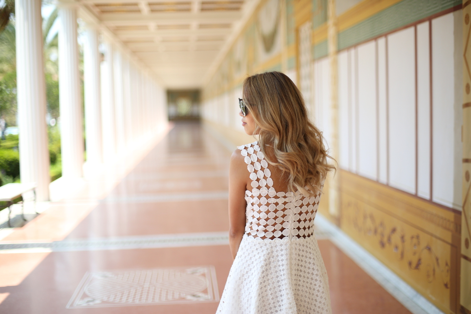 Beyond Basic Blog Endless Rose White Dress Getty Villa