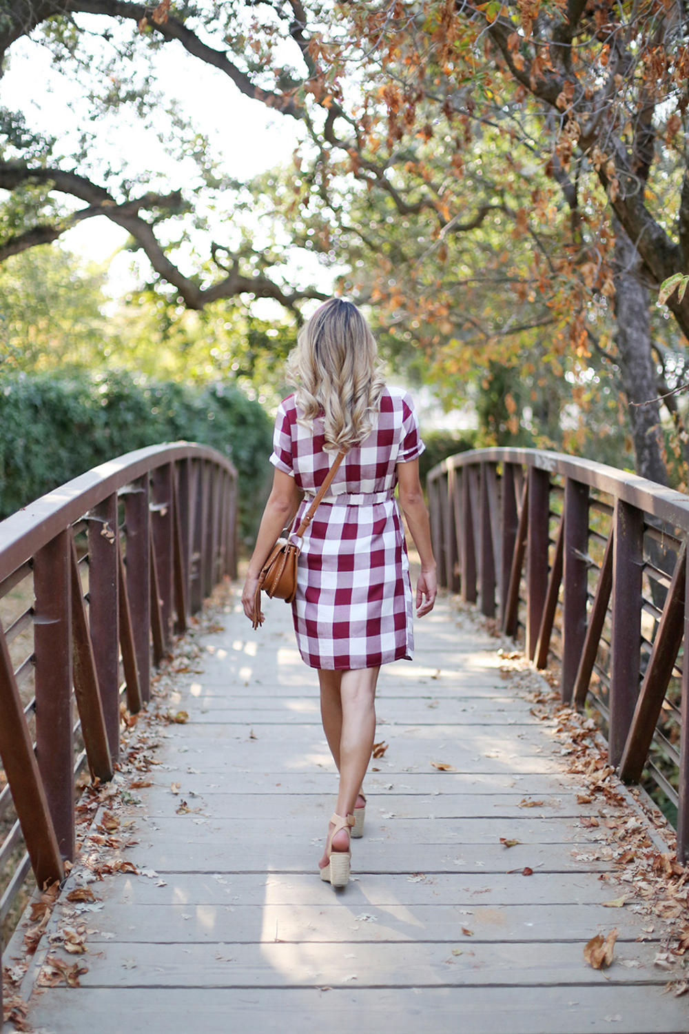 Beyond Basic Blog Summer Stroll ASOS Check Print Shirt Gingham Dress