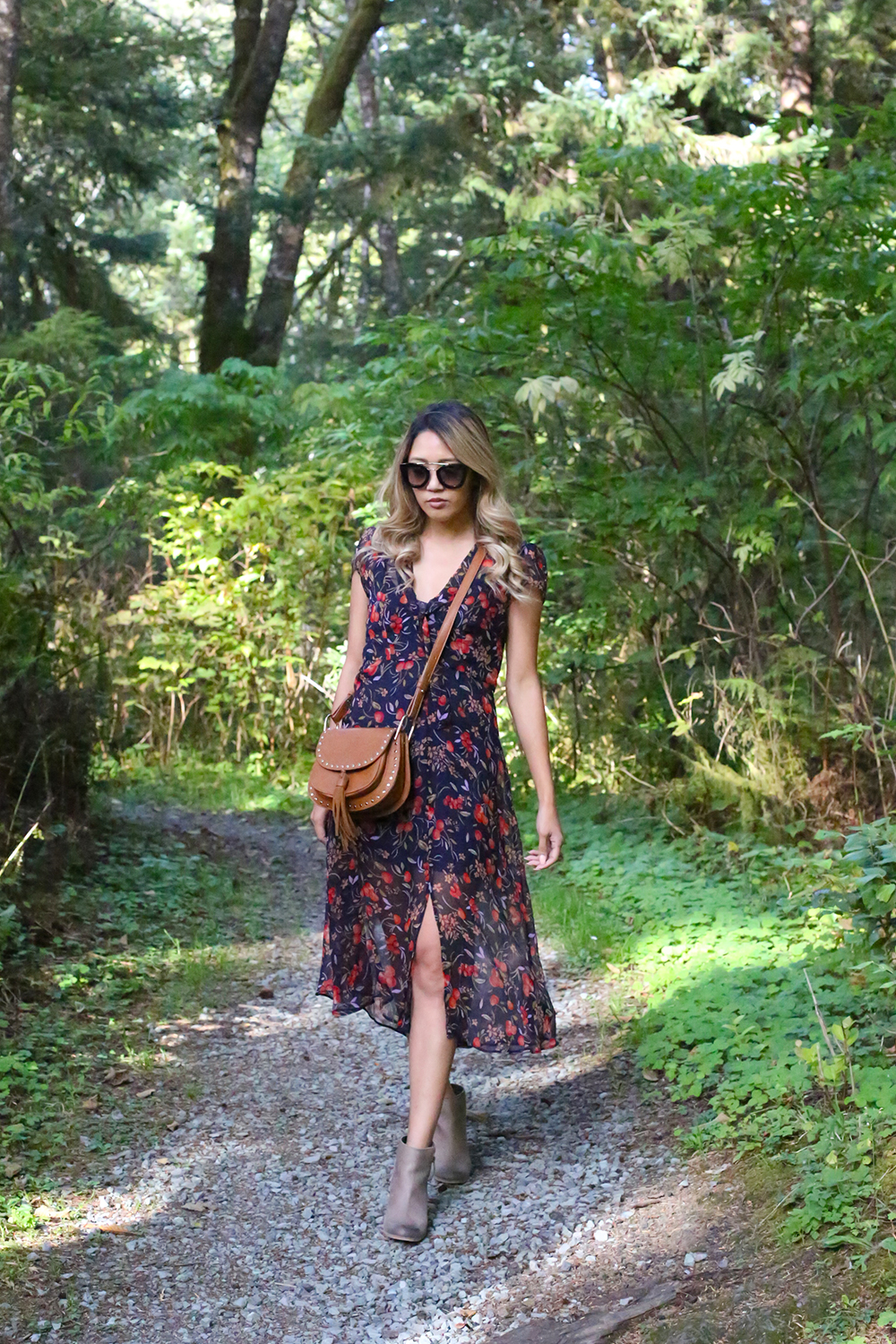 Beyond Basic Blog Oregon Trails Urban Outfitters Kimchi Blue Cordelia Tie Front Dress