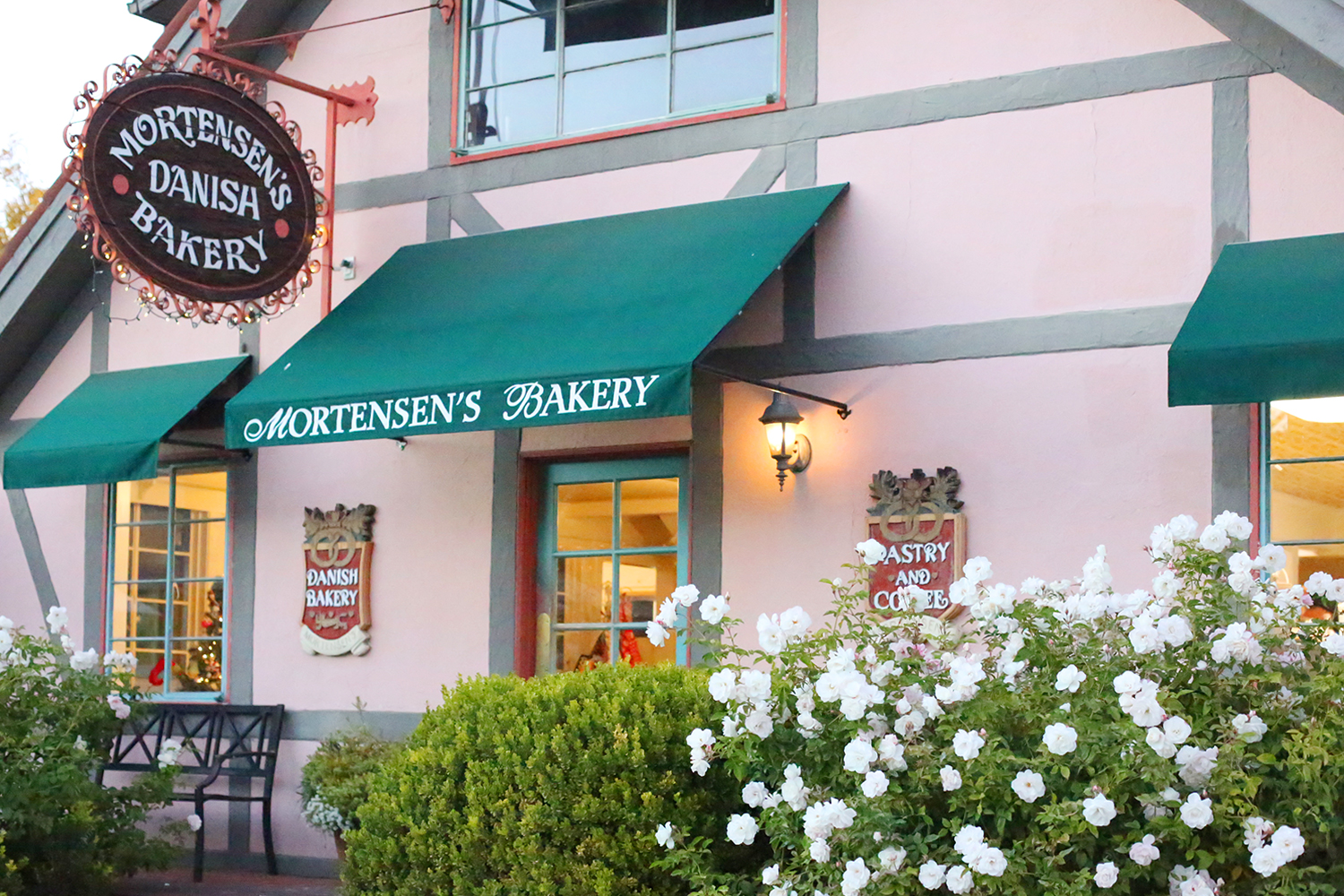 Beyond Basic Blog Christmas in Solvang California Mortensen's Bakery