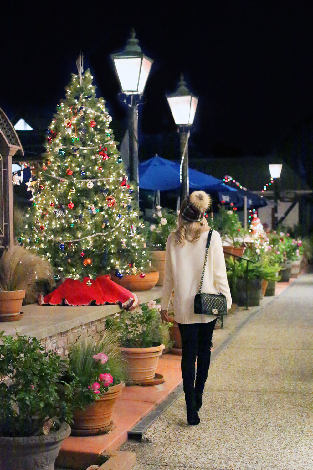 Beyond Basic Blog Christmas in Solvang California Christmas Lights