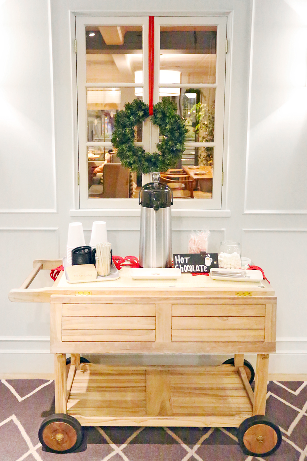 Beyond Basic Blog The Landsby Solvang Hot Chocolate Bar Cart