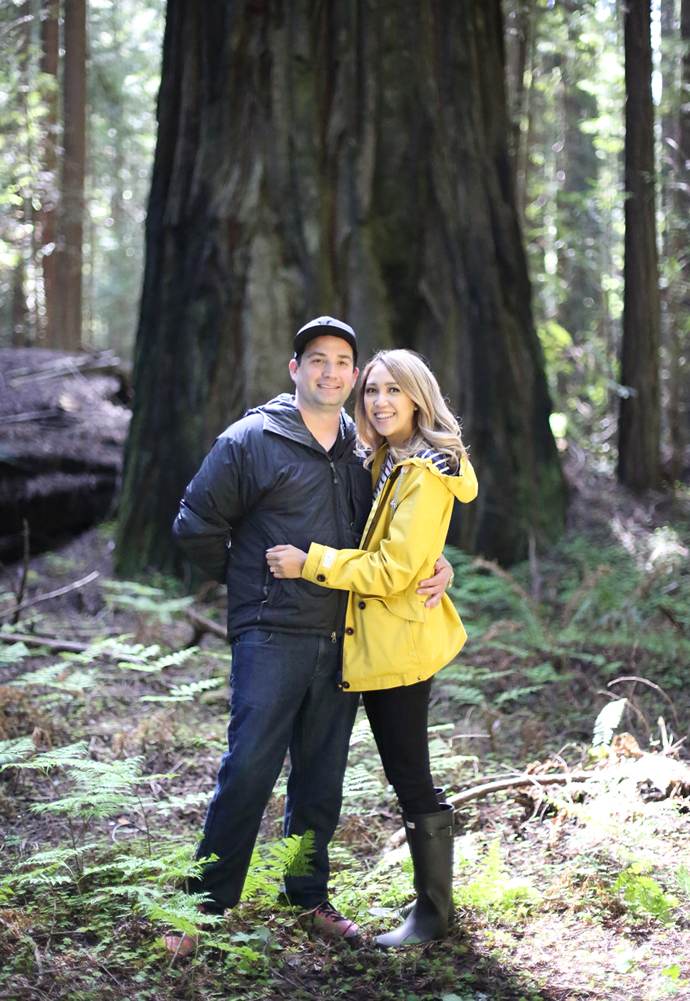 Beyond Basic Blog New Adventures Humboldt Redwoods State Park Meghan Karaan Engaged