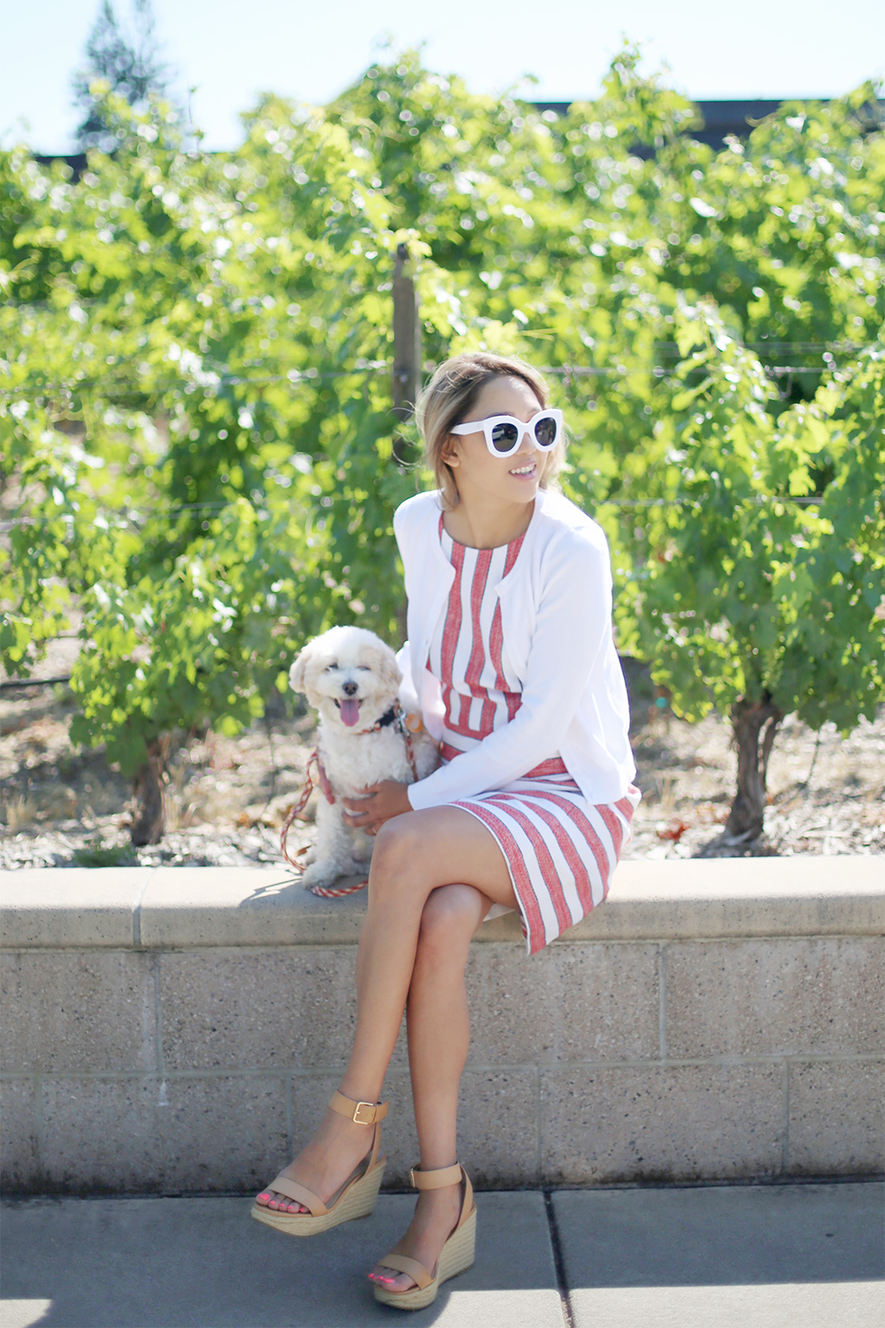 Beyond Basic Blog Red White and Darla 4th of July Inspired Outfit