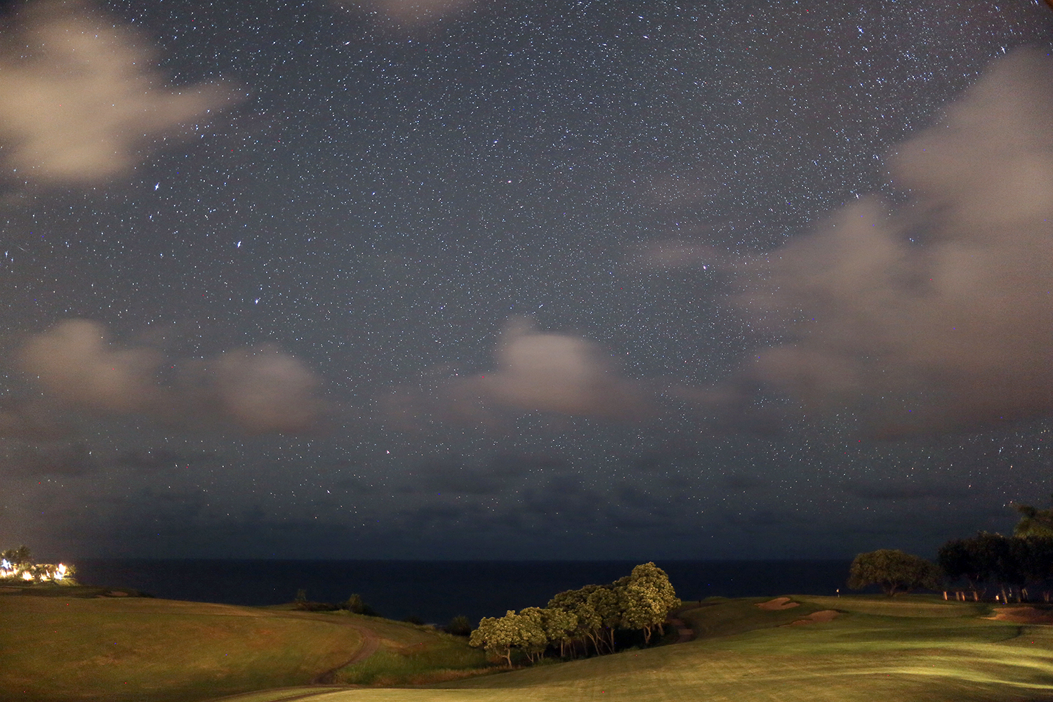 Beyond Basic Blog The Westin Princeville Hotel Review Starry Night Sky